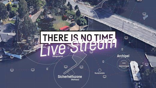 07–09.07.2017 THERE is NO TIME Live Stream | Receiving Terminal at the GALERIE G