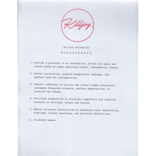 Killjoy Collective presents BROADCAST january 21 06:00 PM  09:00 PM / 222 SE 10t