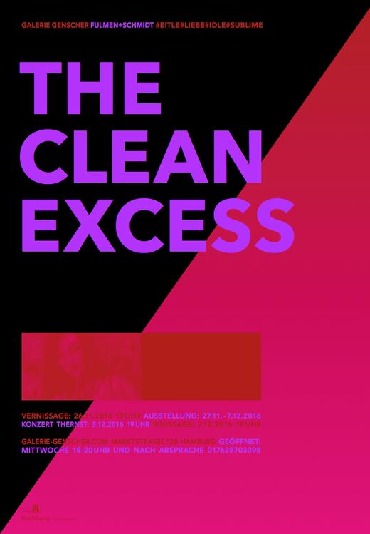 26.11. 19 Uhr | THE CLEAN EXCESS: FULMEN+SCHMIDT | Galerie Genscher Marktstr. 13