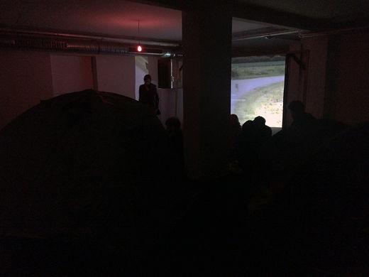 SEP 25 – 27 | VIDEOCAMPING, NEUBAUWOHNUNG Eine Situation der Galerie Genscher Op