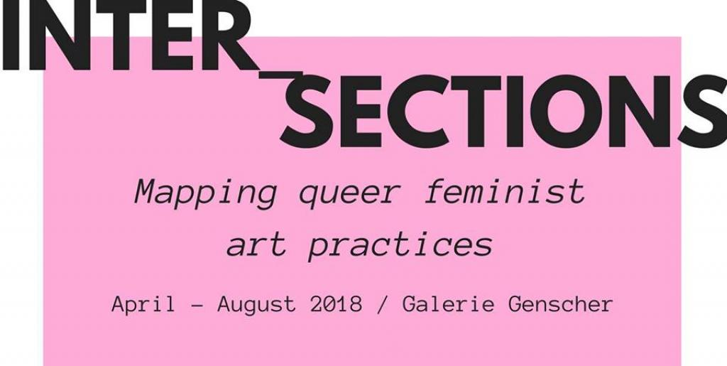 INTER_SECTIONS: MAPPING QUEER*FEMINIST ART PRACTICES Donnerstag, 24. Mai 2018 um 19:30 in der Galerie Genscher