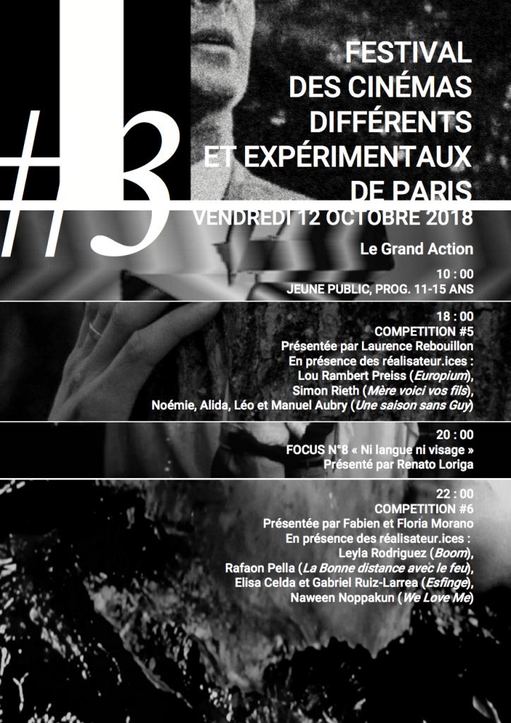BOOM @ the 20e Festival des cinémas différents de Paris Grand Action, Paris/ FRANCE
