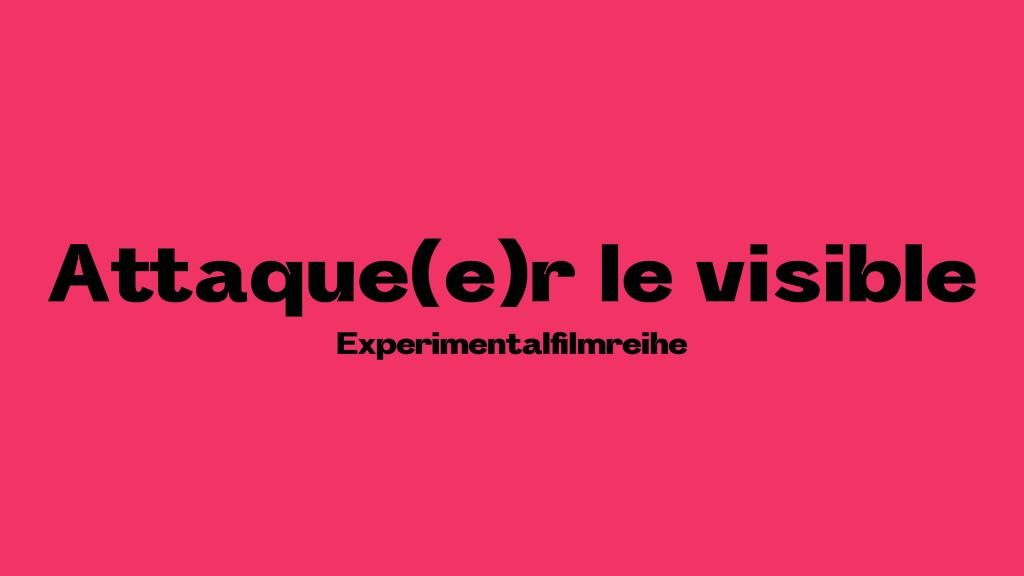 Optimistic Cover @ the Attaque(e)r le visible Experimentalfilmreihe – monatlich von März bis Dezember 2021 kuratiert von Lawinia Rate Programm: Videofest #1 27. – 28. März 2021 – keine Eröffnung / ab 12:00 / non-stop im Schaufenster