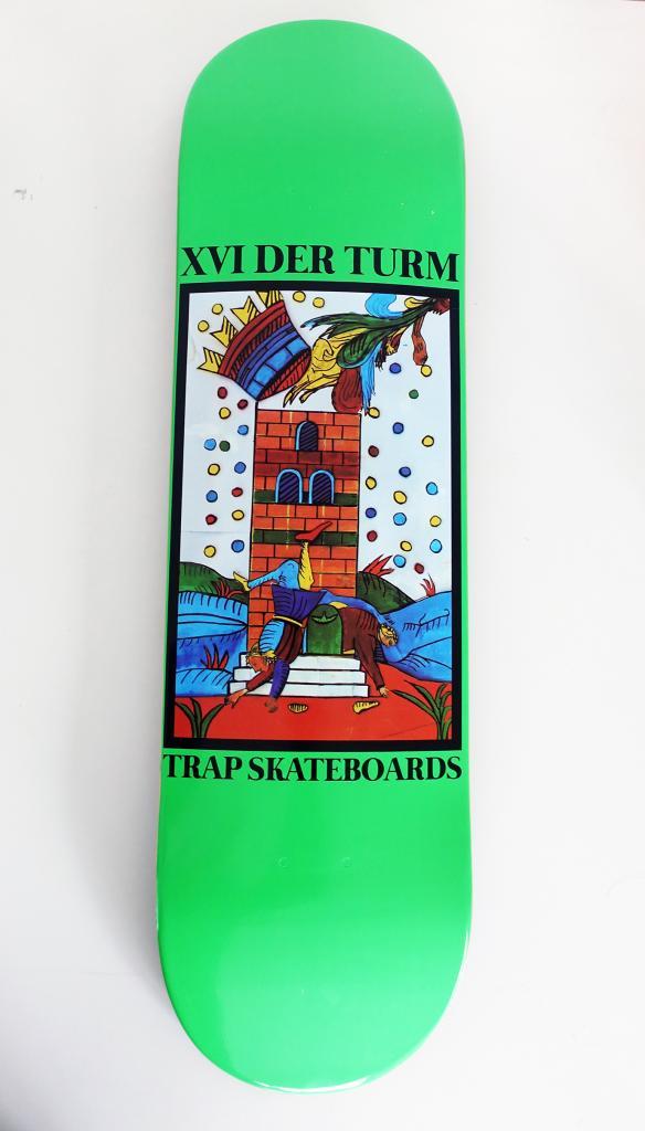 """TAROT"" 2021 | Leyla Rodriguez X Trap Skatetbords Collaboration"