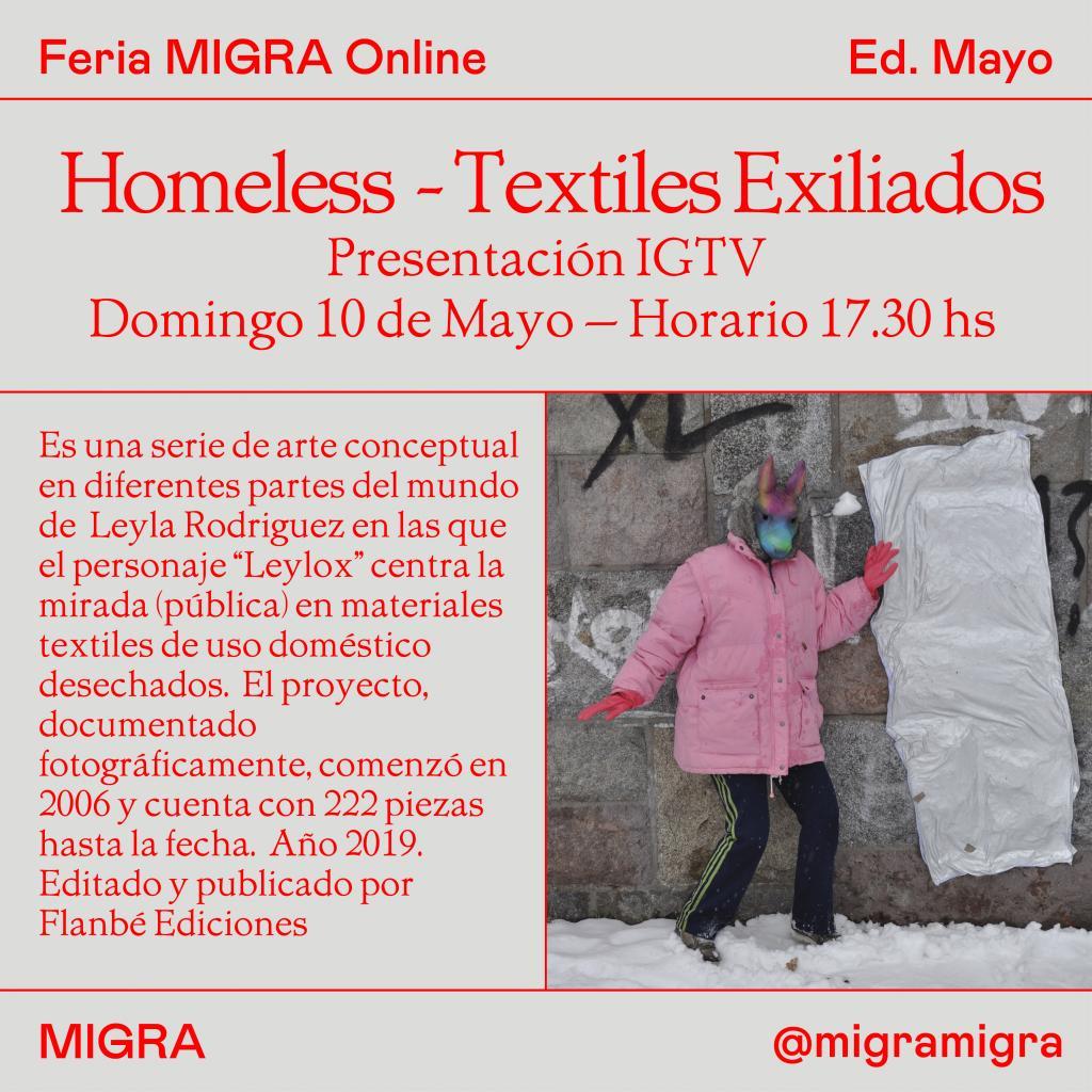 life on instagram @MIGRAMIGRA WWW.FERIAMIGRA.COM  leyla rodriguez