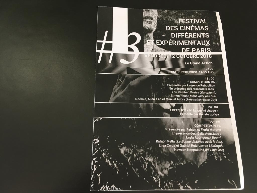 thank u 20e Festival des Cinémas Différents de Paris (3-14 oct. 2018)