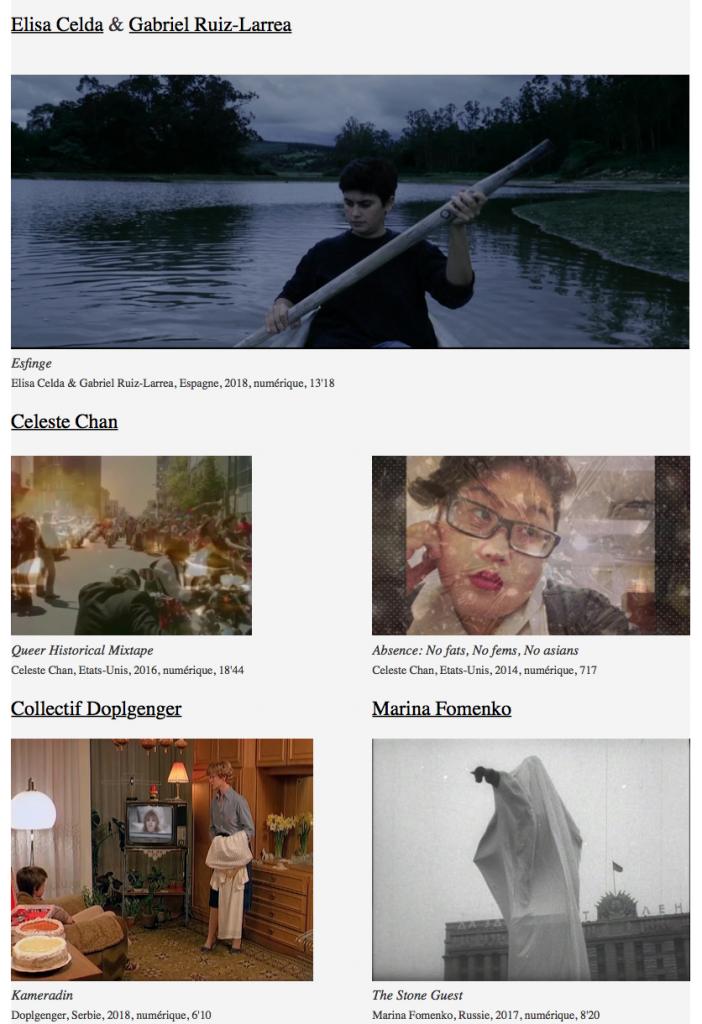 leyla rodriguez Collectif Jeune Cinéma 2018  Nouvelles acquisitions/ NEW FILMS IN DISTRIBUTION