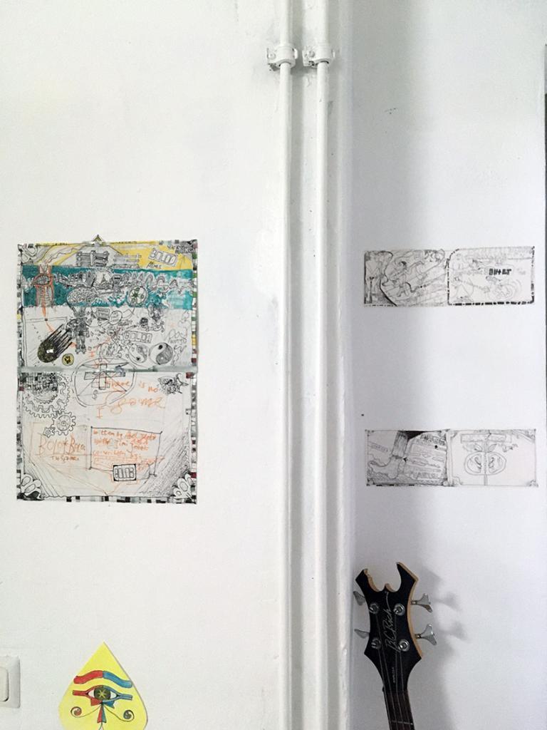 """14.12. – 31.12.2019 ABEL JALETA """"24h AStA Waschsalon"""" @ the Galerie Genscher"""