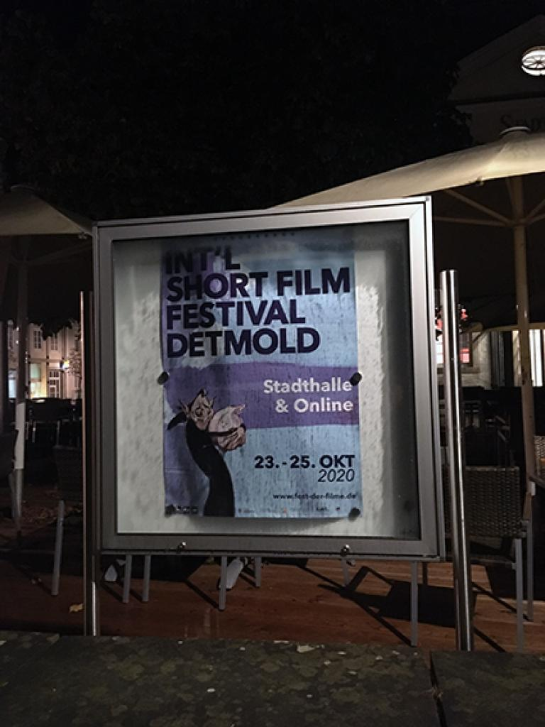 Boom @ the International Short Film Festival Detmold 23. - 25. OKTOBER 2020