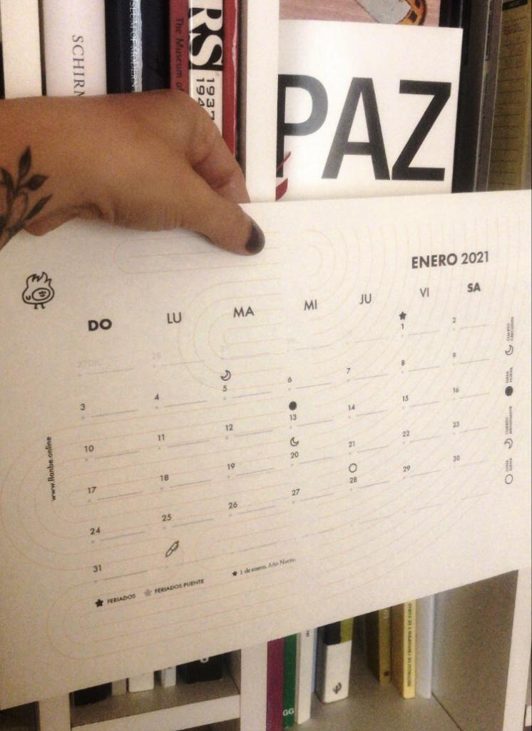 Nuestro regalo para año nuevo  Calendario Flanbé 2021