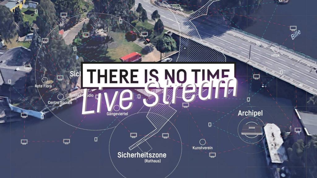 07–09.07.2017 THERE is NO TIME Live Stream   Receiving Terminal at the GALERIE G
