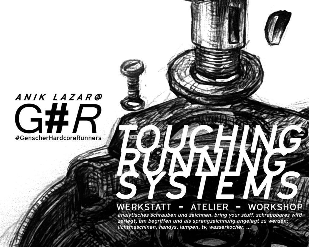 08.06.2018 ANIK LAZAR TOUCHING RUNNING SYSTEMS  G#R Zentrale, Marktstr. 138, Hin