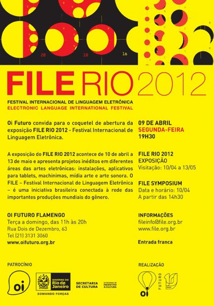 "Isle Of Lox ""The Face""/ File Rio 2012"" from April 10th to May 13th/ Oi Futuro Fl"