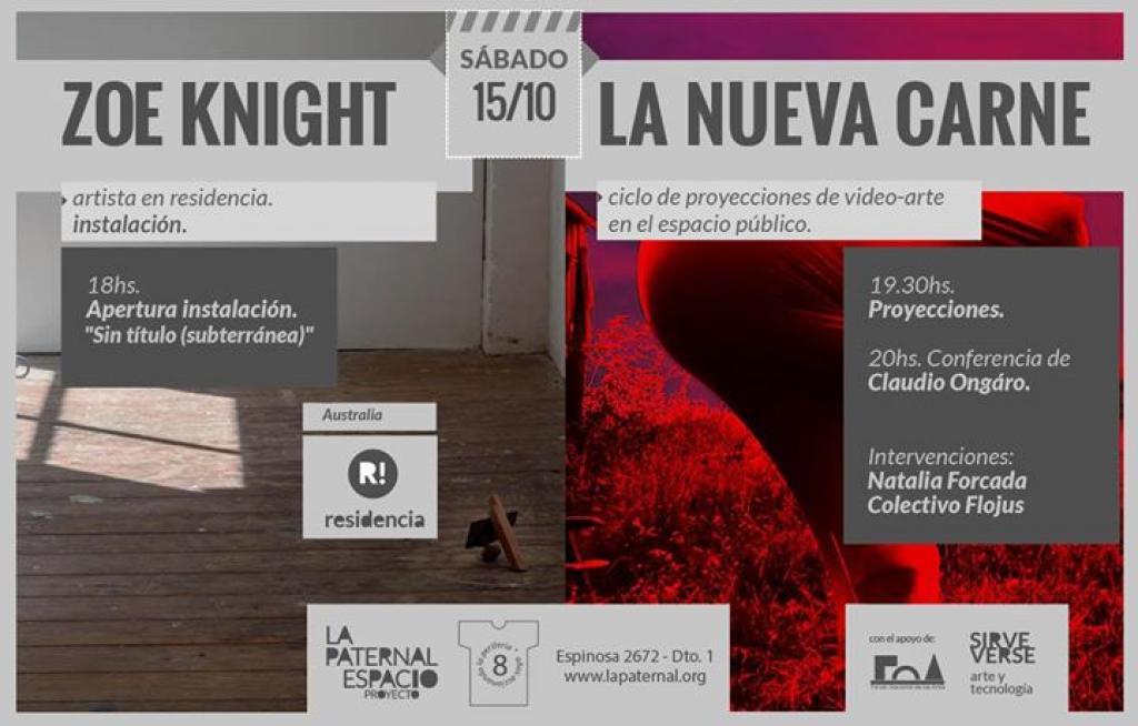 Larga Vida a la Nueva Carne @ La Paternal Espacio Proyecto IN BOX, Buenos Aires,
