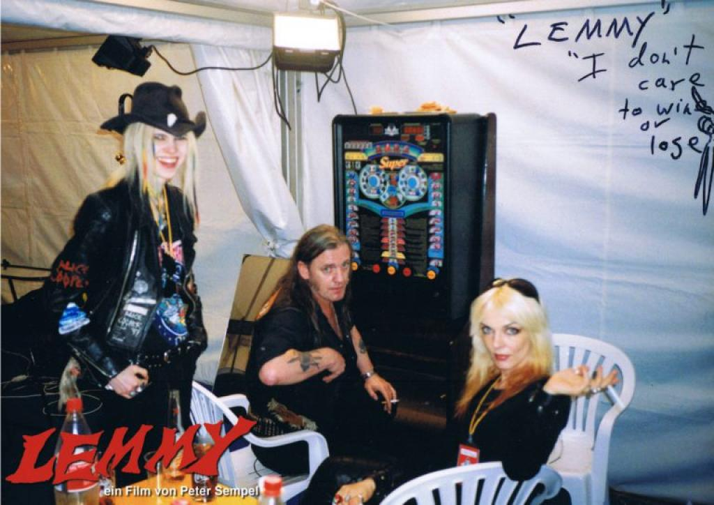 """28. Dezember 2017, 19:30 Uhr """"LEMMY"""" (2002/06), in 2nd year of memory Galerie Ge"""