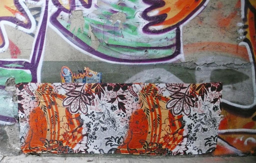 tischdecken, leyla rodriguez, fabrics street art