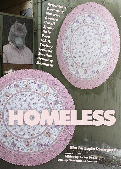 leyla rodriguez, homeless, video work, textilttagx
