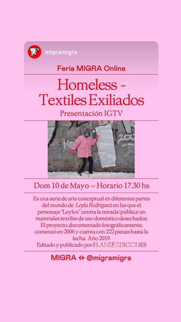 https://www.instagram.com/migramigra/, leyla rodriguez, homeless