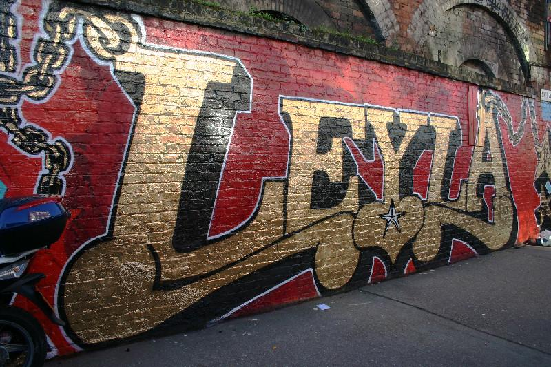 leyla london graffiti