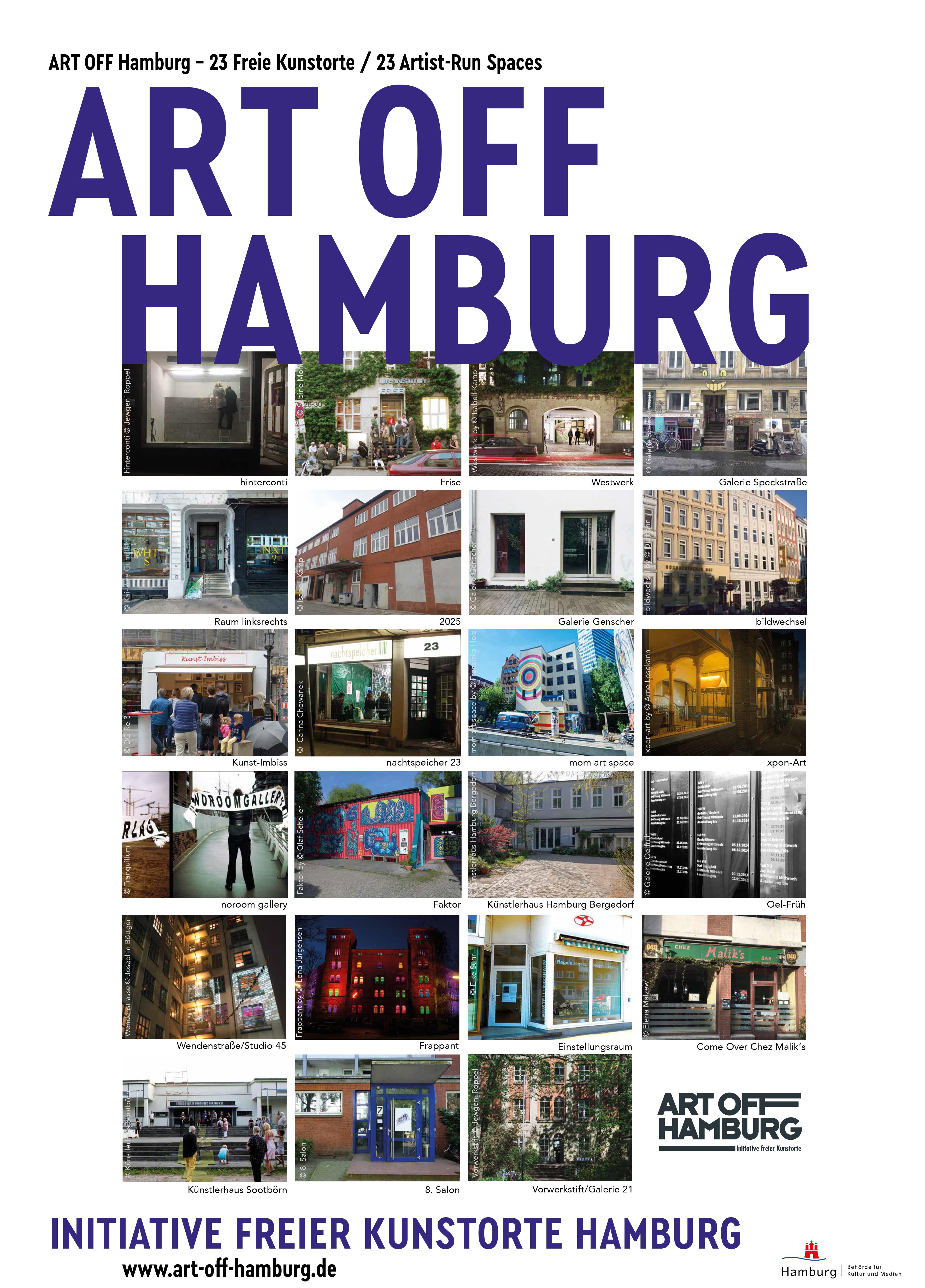 ART OFF HAMBURG – INITIATIVE OF INDEPENDENT ART SPACES IN HAMBURG