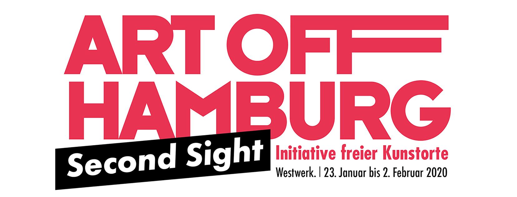 ART OFF HAMBURG | Second Sight  2. Gemeinschaftsausstellung der freien Hamburger Kunstorte  WESTWERK. Admiralitätstraße 74 | 20459 Hamburg | www.westwerk.org   Vernissage, Donnerstag den 23. Januar 2020 um 19 Uhr
