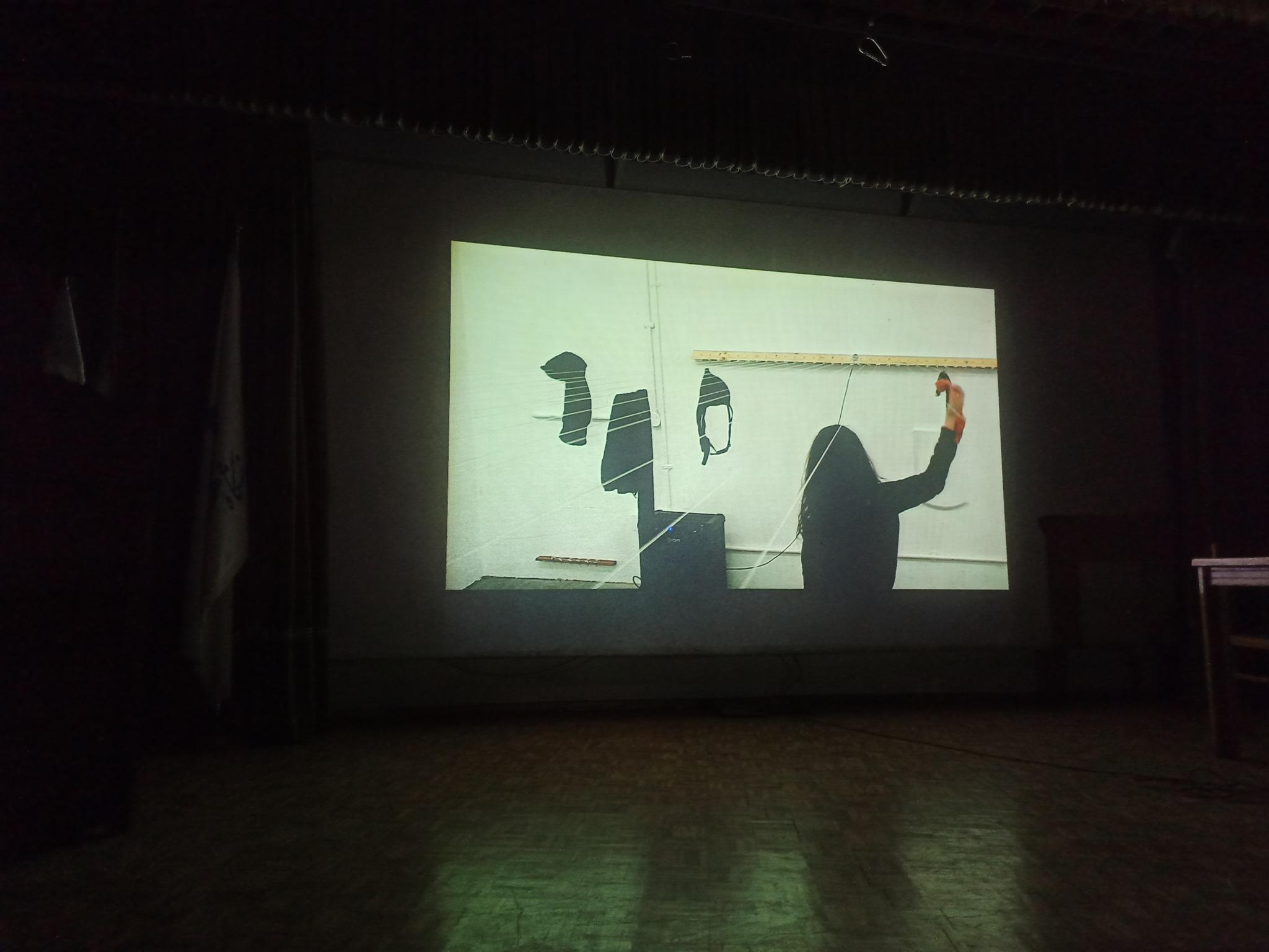 Screening Paadmaan Video Event 2019 at Tehran University of Art, December 14., Tehran/ IRAN