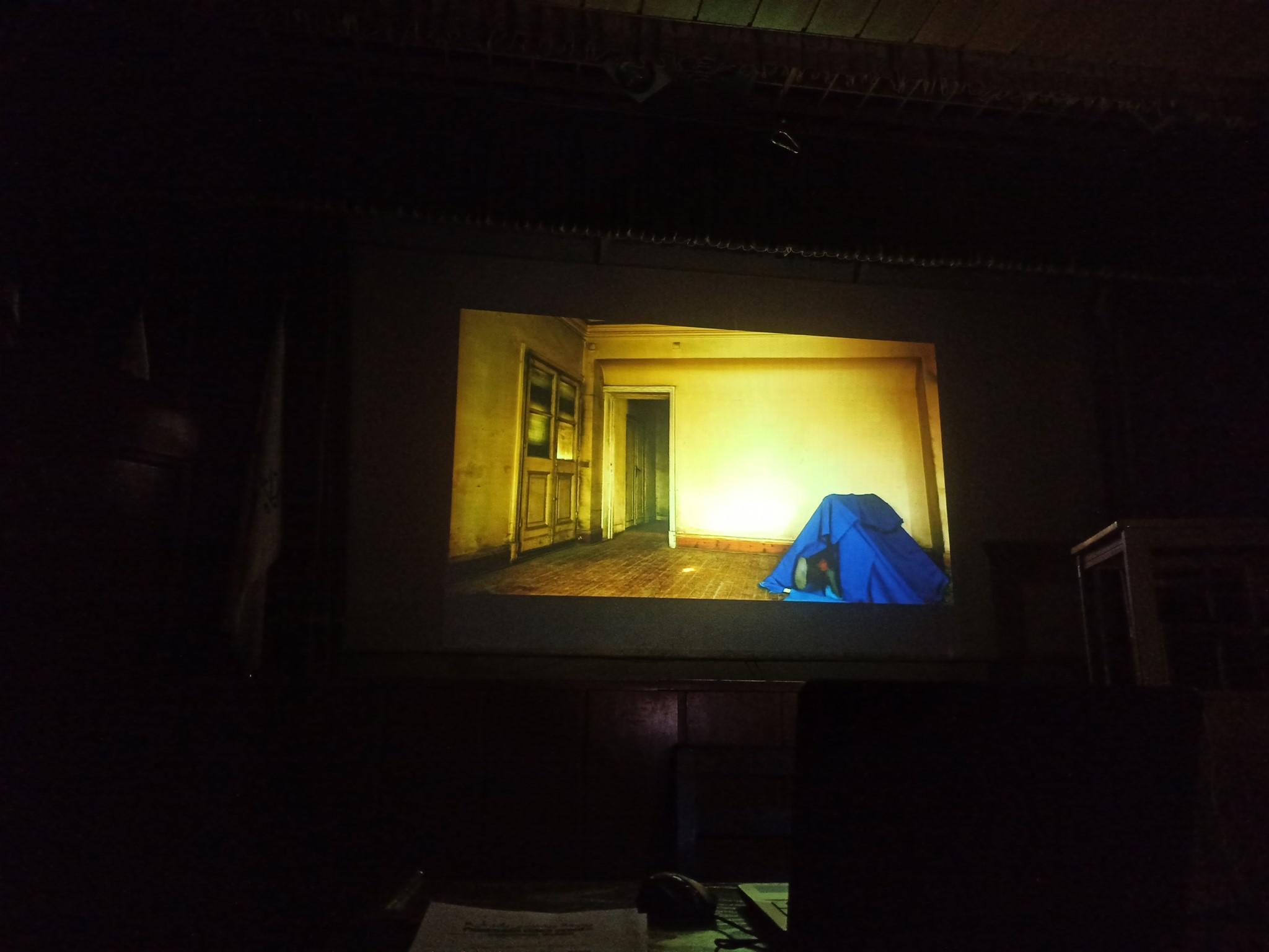 Screening Paadmaan Video Event 2019 at Tehran University of Art, December 14., Tehran/ IRAN