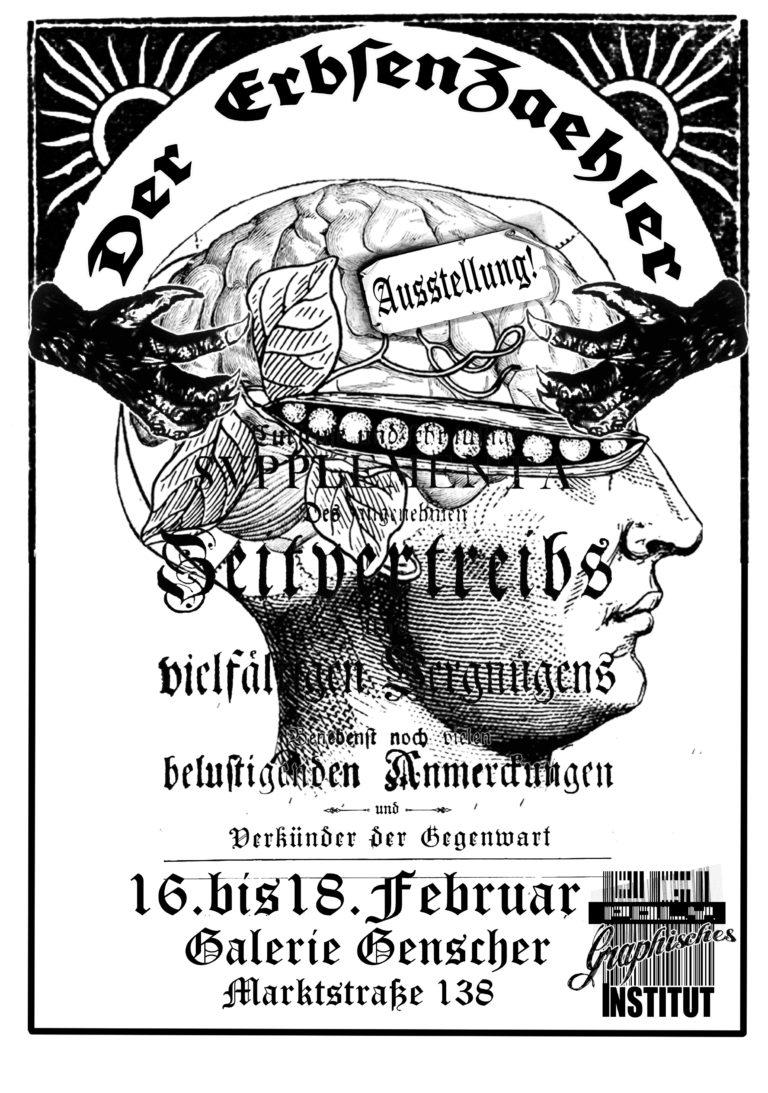 """""""Erbsenzähler - Die Auslese aus den Erbsenzählern."""" des Polygraphisches Institut"""